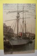 """LE  HAVRE   -  """" LE  FRANCAIS  """"  En Partance Pour Le Pole Sud  -   (  Couleur  ) - Segelboote"""