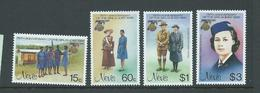 Nevis 1985 Girl Guide Set Of 4 MNH - St.Kitts And Nevis ( 1983-...)