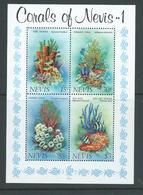 Nevis 1983 Corals Miniature Sheet MNH - St.Kitts-et-Nevis ( 1983-...)