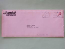 USA 1985 Cover To Grand Blanc - Shell - Etats-Unis