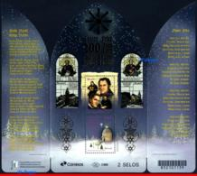 Ref. BR-V2018-16-2 BRAZIL 2018 - 200 YEARS OF, �SILENT NIGHT� SONG, SOUVENIR SHEET MNH, CHRISTMAS 2V - Brésil
