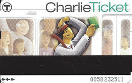 Paper Charlie Ticket From The MBTA - Transportation Tickets