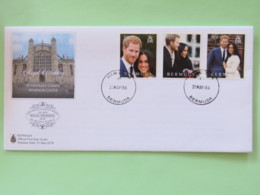 Bermuda 2018 FDC Cover - Royal Wedding - Bermuda