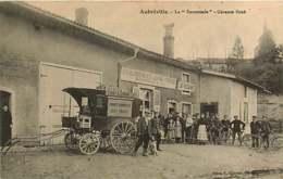 131218 - 55 AUBREVILLE La Succursale Gérance BURE - établissements LEPINE FRERES Café Calèche Chocolat Colporteur - France