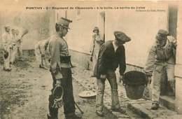 131218 - 56 PONTIVY 2e Régiment Chasseurs A La Boîte Sortie De Jules - Militaria Gardien Clé - Pontivy