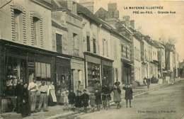 131218 - 53 PRE EN PAIL Grande Rue - Commerce BLOTTIERE - Pre En Pail