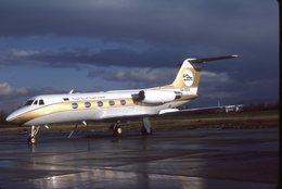 SLIDE / AVION / AIRCRAFT   KODAK  ORIGINAL      LYBIAN ARAB AIRLINES  GULF 2  5A-DDS - Diapositives