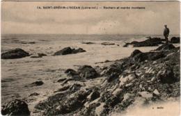 5LB 529. SAINT BREVIN L' OCEAN - ROCHERS ET MAREE MONTANTE - Saint-Brevin-l'Océan
