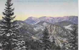 AKL 0100  Semmering Im Winter - Kalte Rinne , Pollersoswand Und Raxalpe / Verlag Frank Um 1909 - Semmering
