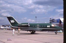 SLIDE / AVION / AIRCRAFT   KODAK  ORIGINAL   TAG  CHALLENGER N4247C - Diapositives