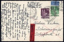 1948, Bizone, 80eg + 93eg, Brief - Bizone