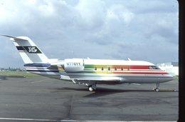 SLIDE / AVION / AIRCRAFT   KODAK  ORIGINAL   TAG  CHALLENGER N778YY - Diapositives
