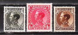 401/03**  Leopold III Type Invalides - Série Complète - MNH** - COB 13 - Vendu à 12.50% Du COB!!!! - Belgium