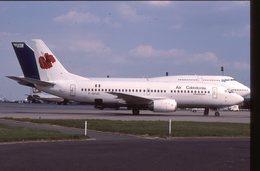 SLIDE / AVION / AIRCRAFT   KODAK  ORIGINAL AIR CALEDONIE INTERNATIONAL  B 737  F-GFUC - Diapositives