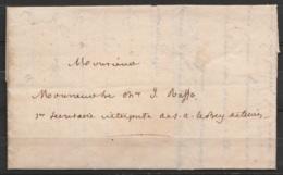 L. Datée 22 Septembre 1834 De TUNIS D'un Collaborateur De Ferdinand De Lesseps à Monsieur Raffo Secrétaire Interprète à - 1801-1848: Précurseurs XIX