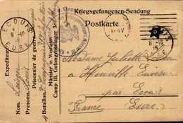 CORRESPONDANCE MILITAIRE DEPUIS L'ALLEMAGNE...(PRISONNIER ?)..1915 - Documents