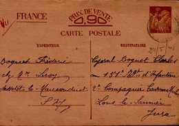 CORRESPONDANCE MILITAIRE   1941 - Documents