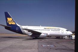 SLIDE / AVION / AIRCRAFT    ORIGINAL   NATIONWIDE  B 737  ZS-OMG - Diapositives