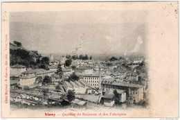 VINAY QUARTIER DU RUISSEAU ET LES FABRIQUES 1906 TBE - Vinay