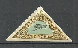 FAUX Estonia Estland 1920 Michel 14 FAKE Fälschung * - Estonie