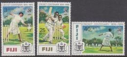 FIJI, 1974 CRICKET 3 MNH - Fiji (1970-...)