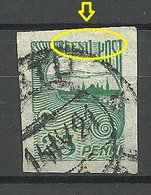 Estland Estonia 1920 Michel 15 Printing Error Abart O - Estonie