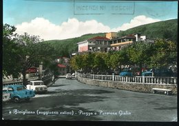 WD34 BIVIGLIANO - PIAZZA E PENSIONE GIULIA - Other Cities