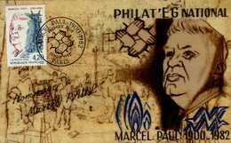 CARTE 1er JOUR 1982..MARCEL PAUL - Cartes-Maximum
