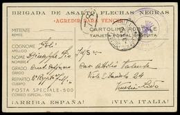 1938, Italien, Brief - Italien