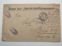 1923 , Gebühr Bezahlt , Beleg Aus   Sanct Andreasberg - Deutschland