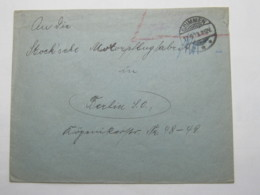 1923 , Gebühr Bezahlt , Beleg Aus   Grimmen - Deutschland