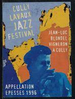 Rare // Etiquette De Vin // Musique // Epesses, Cully Lavaux Jazz Festival - Musique