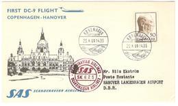 11169 - COPENHAGEN HANOVER - Poste Aérienne