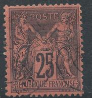 N°91 NUANCE  OBLITERATION. - 1876-1898 Sage (Type II)