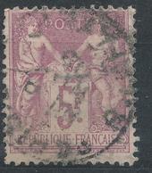 N°95 NUANCE  OBLITERATION. - 1876-1898 Sage (Type II)