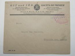 1923 , Gebühr Bezahlt , Beleg Aus   München - Deutschland
