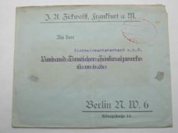 1923 , Gebühr Bezahlt , Beleg Aus   Frankfurt - Deutschland