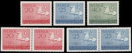 ** Sweden - 1956 - Olympic Games 1956 - Mi. 413-5, D, D/D - Ete 1956: Melbourne