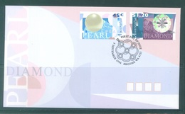 AUSTRALIA  - FDC - 5.9.1996 - PEARL DIAMOND - Yv 1540-1541 - Lot 18628 - Premiers Jours (FDC)