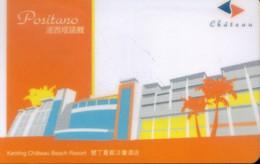 Taiwan Hotel Key,  Chateau Beach Resort - Positano ,  Pingtung (1pcs) - Taiwan (Formosa)
