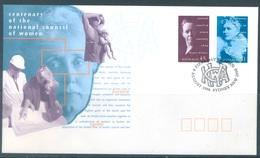 AUSTRALIA  - FDC - 8.8.1996 - CENTENARY NATIONAL COUNCIL WOMEN - Yv 1537-1538 - Lot 18629 - Premiers Jours (FDC)
