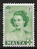MALTE    -   1950 .   Y&T N° 222 * - Malte (...-1964)