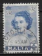 MALTE    -   1950 .   Y&T N° 223 Oblitéré - Malte (...-1964)