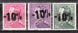 724A/E**  Poortman Surchargé -10% - RHODE ST GENESE - Série Complète - MNH** - LOOK!!!! - 1946 -10%