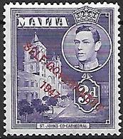 MALTE    -   1953 .   Y&T N° 232 * .  Self-Gouvernement - Malte (...-1964)
