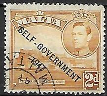 MALTE    -   1953 .   Y&T N° 230 Oblitéré    Self-Gouvernement . - Malte (...-1964)