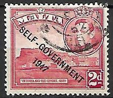 MALTE    -   1953 .   Y&T N° 231 Oblitéré    Self-Gouvernement . - Malte (...-1964)