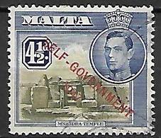 MALTE    -   1953 .   Y&T N° 233 Oblitéré    Self-Gouvernement . - Malte (...-1964)