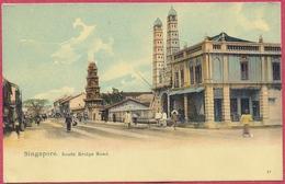 Singapore South Bridge Road Mosque Jamae Chulia By Tamil & Hindu Temple_n°57 Straits Settlements_S'pore-CPA Old - Singapore