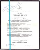 Devotie - Doodsbrief - Overlijden - Alfons Braet - Maldegem 1906 - 1973 - Décès